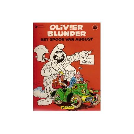 Olivier Blunder 25 Het spook van august herdruk