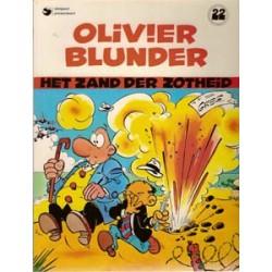 Olivier Blunder 22<br>Het zand der zotheid<br>herdruk