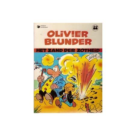 Olivier Blunder 22 Het zand der zotheid herdruk