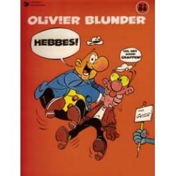 Olivier Blunder 21<br>Hebbes<br>herdruk