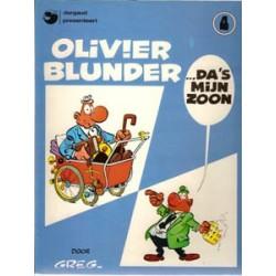 Olivier Blunder 04<br>Da 's mijn zoon<br>herdruk