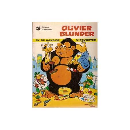 Olivier Blunder 12 De handige viervoeter herdruk