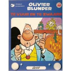 Olivier Blunder 13<br>Te vuur en te zwaard<br>herdruk