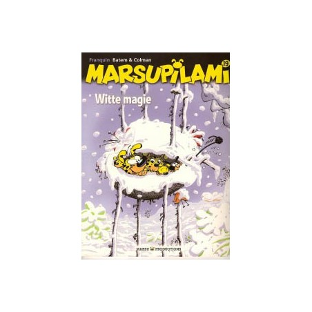 Marsupilami  19 Witte magie