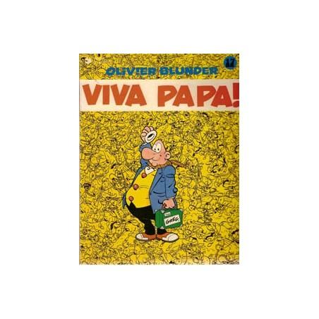 Olivier Blunder 17 Viva papa herdruk