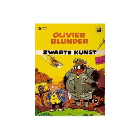 Olivier Blunder 18 Zwarte kunst herdruk