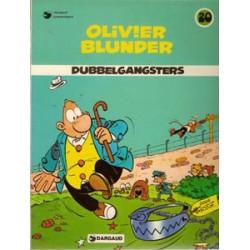 Olivier Blunder 20<br>Dubbelgangsters<br>herdruk