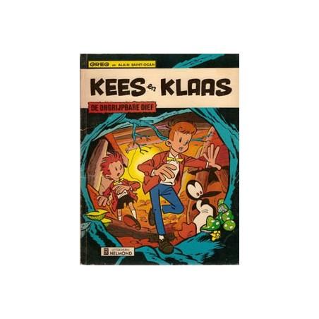 Kees en Klaas De ongrijpbare dief herdruk 1974