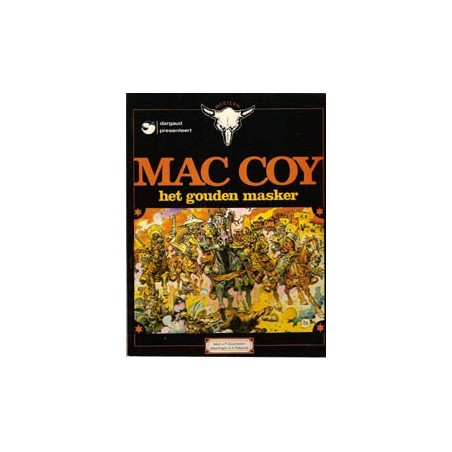 Mac Coy 03 Het gouden masker herdruk