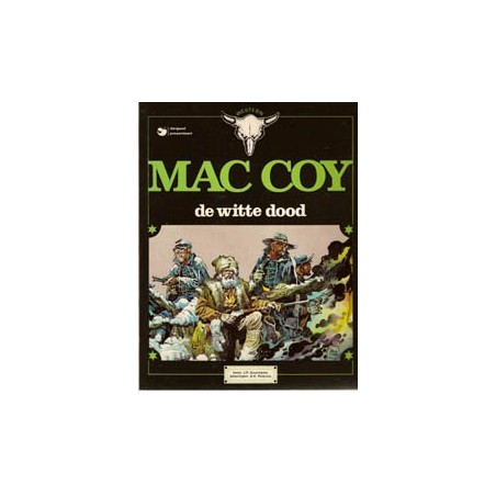 Mac Coy 06 De witte dood herdruk