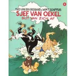 Sjef van Oekel HC 04 Bijt van zich af 1e druk 1987