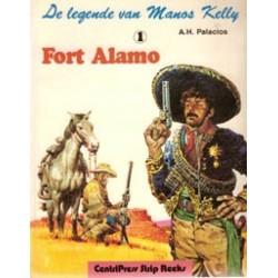 Legende van Manos Kelly 01 Fort Alamo 1e druk 1981