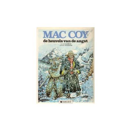 Mac Coy 13 De heuvels van de angst 1e druk 1987