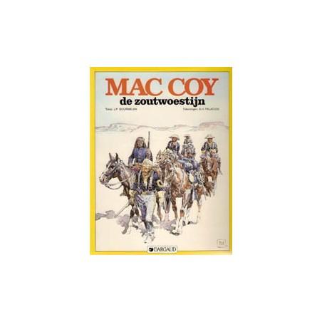 Mac Coy 14 De zoutwoestijn 1e druk 1988
