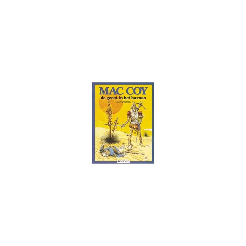 Mac Coy 16 De geest in het harnas 1e druk 1990