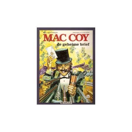Mac Coy 19 De geheime brief 1e druk 1995