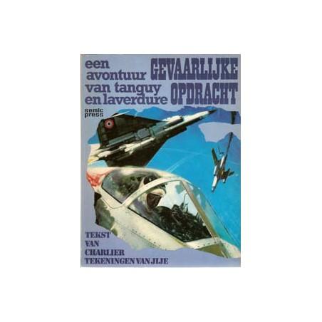 Tangy & Laverdure 15 Gevaarlijke opdracht 1e druk 1975