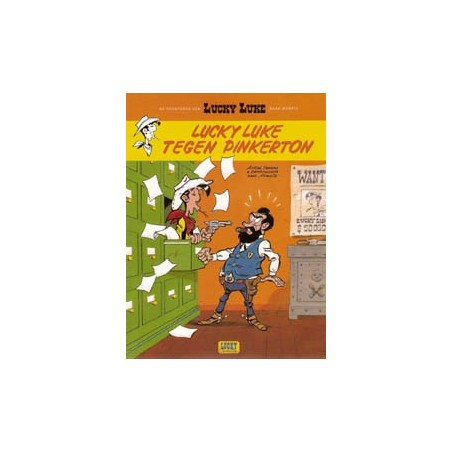 Lucky Luke  004 III Tegen Pinkerton