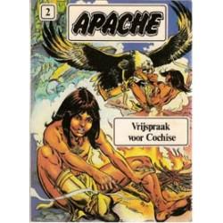 Apache 02 HC Vrijspraak voor Cochise 1e druk 1981