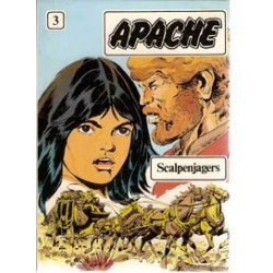 Apache 03 HC Scalpenjagers 1e druk 1982