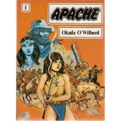 Apache setje Deel 1 t/m 4  1e drukken 1981-1982