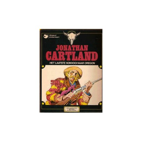 Jonathan Cartland setje Deel 1 t/m 10 1e drukken 1976-1995
