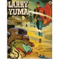 Larry Yuma 02<br>Het opwaaiende zand<br>1e druk 1980