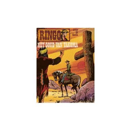 Ringo 01 Het goud van Takoma 1e druk 1981