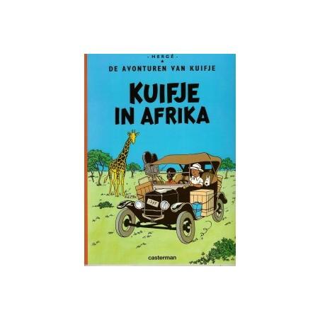 Kuifje  01 In Afrika
