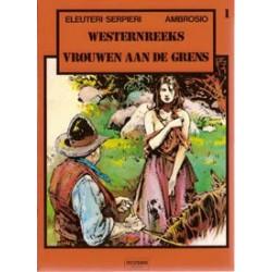 Westernreeks 01<br>Vrouwen aan de grens<br>1e druk 1983