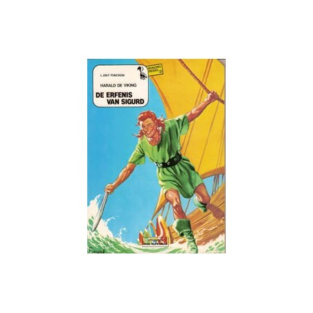 Harald de Viking 01 De erfenis van Sigurd 1e druk 1981