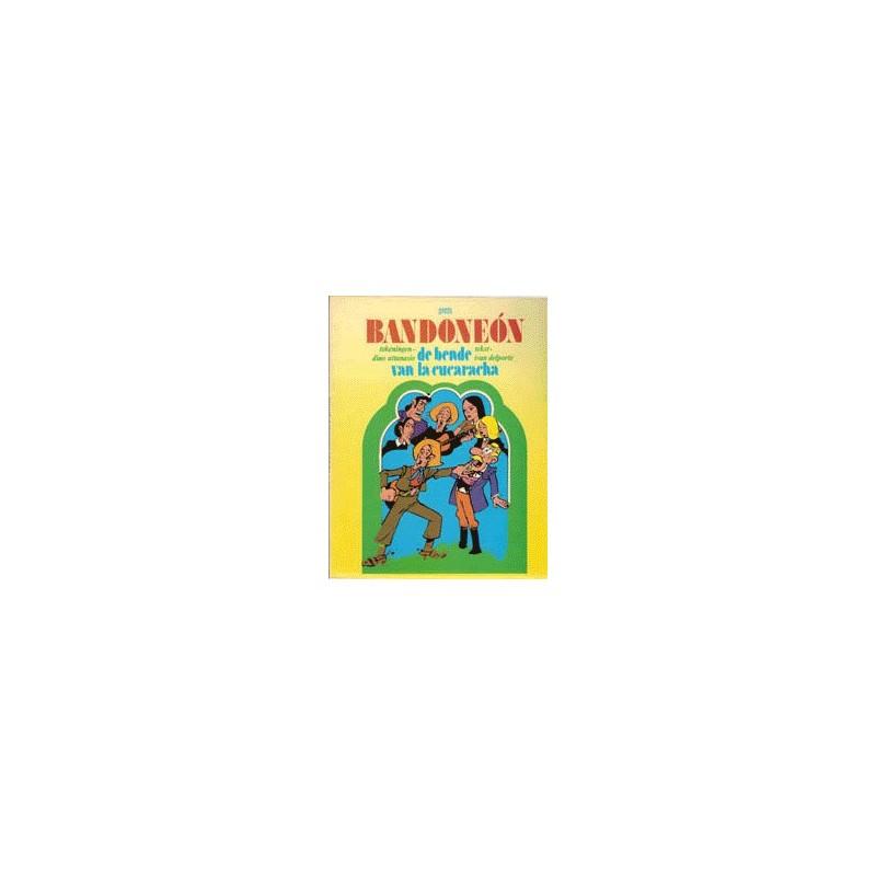 Bandoneon setje 4 Delen 1e drukken 1973-1980