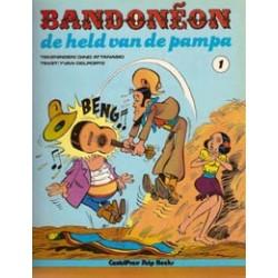 Bandoneon 01 De held van de Pampa 1e druk 1980