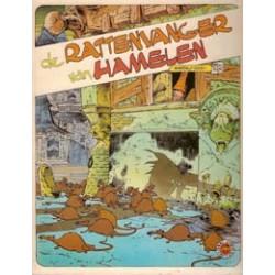 Julsing sprookje Rattenvanger van Hamelen HC 1e druk 1981