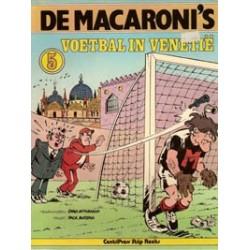 Macaroni's 05 Voetbal in Venetië 1e druk 1978