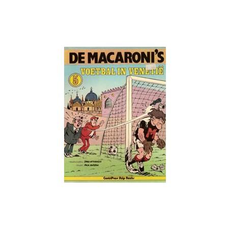 Macaroni's 05% Voetbal in Venetië 1e druk 1978