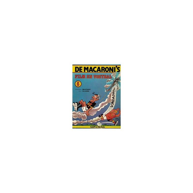 Macaroni's 06 Film en voetbal 1e druk 1979