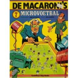 Macaroni's 07 Microvoetbal 1e druk 1979