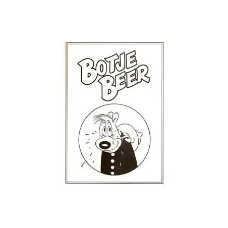 Jippes Botje Beer Striprofiel-bijlage 1e druk 1982