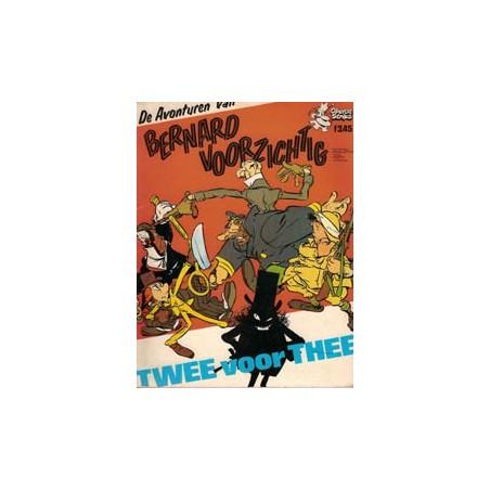 Jippes Bernard Voorzichtig Twee voor Thee 1e druk 1973