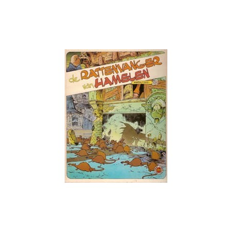 Julsing sprookje Rattenvanger van Hamelen 1e druk 1981