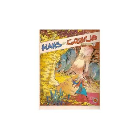 Julsing sprookje Hans en Grietje 1e druk 1981