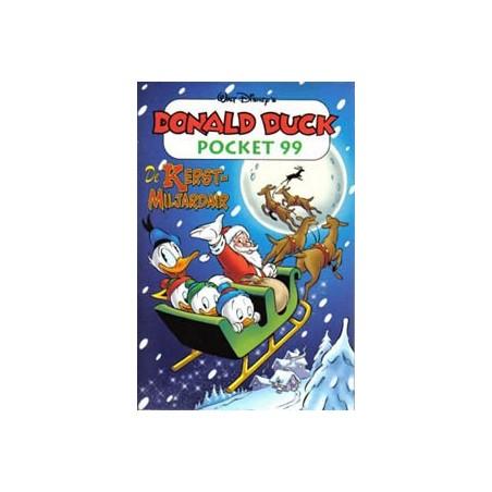Donald Duck pocket 099 De kerstmiljardair 1e druk