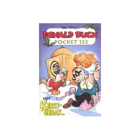 Donald Duck pocket 132 Het kerstgebak 1e druk