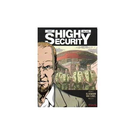 High Security 06 De schaduw van Ezekiel (2) 1e druk 2010