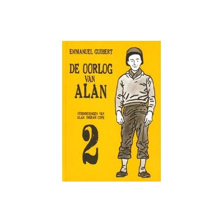 Guibert strips HC De oorlog van Alan 02