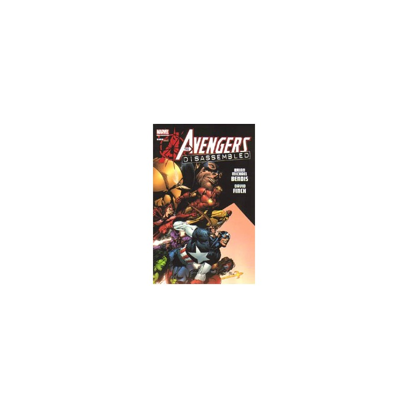 Avengers  NL01 Disassembled