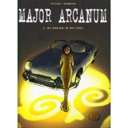 Major Arcanum 02 HC<br>De koning in het geel