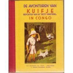 Kuifje facsimile mini HC In Congo