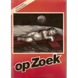 Op zoek (fotostrip) 1e druk 1976 gesigneerd door Plomp
